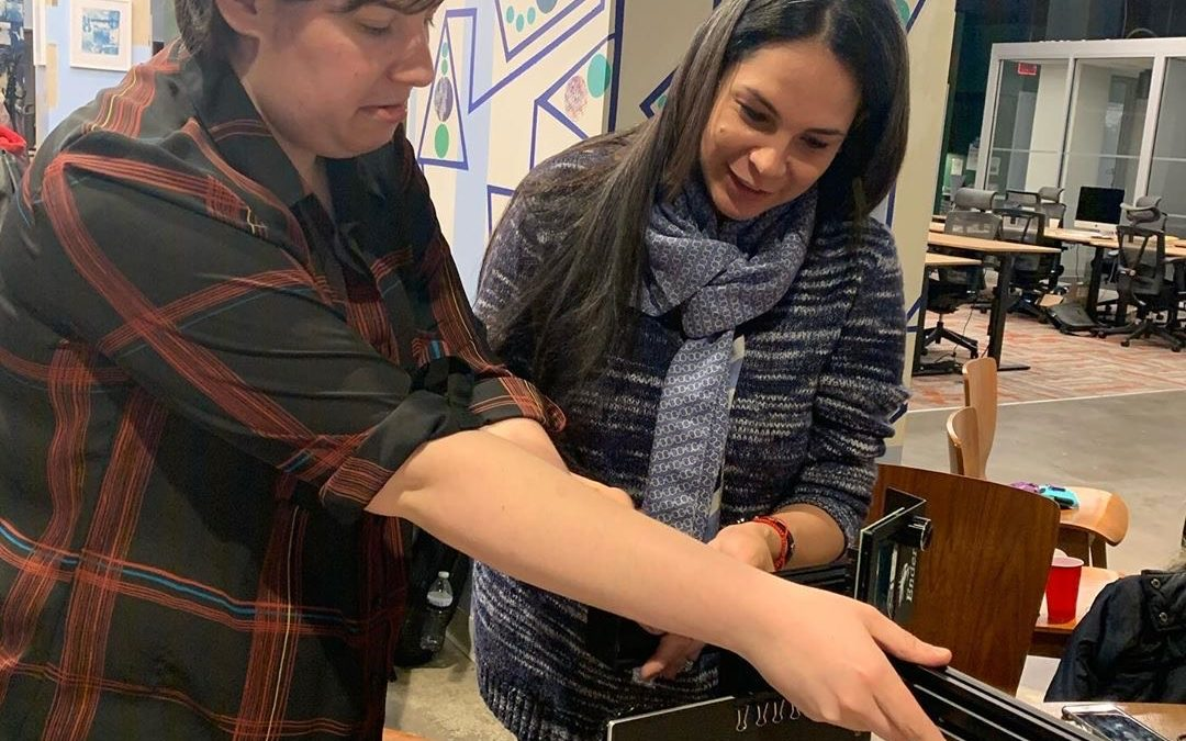 """""""Build & Learn with Girls"""", WI3DP chapter, Equalspace, Newark, NJ"""